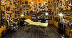 Салон татуировки и пирсинга в центре Киева